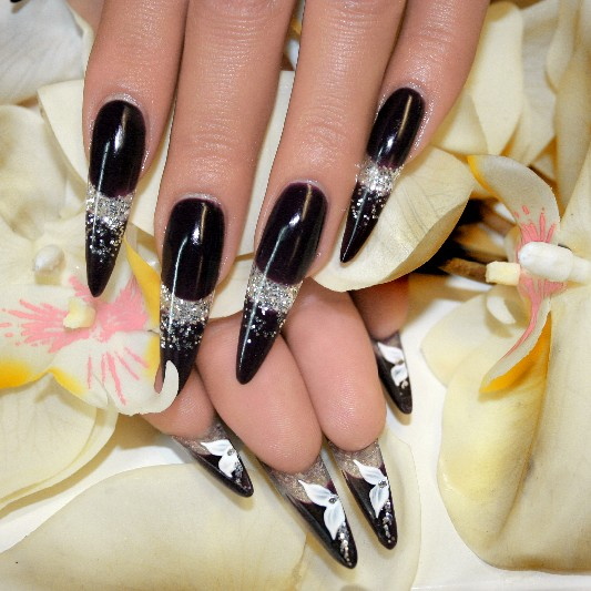 Stiletto Nägel – Nails for fun